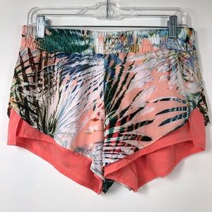 Fabletics floral tropical shorts. Size S NWT